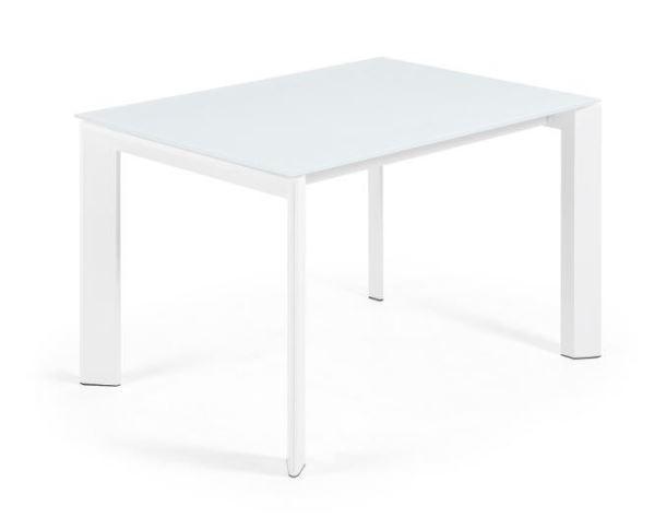Aanbieding laforma tafel columbia glas chroom laforma met