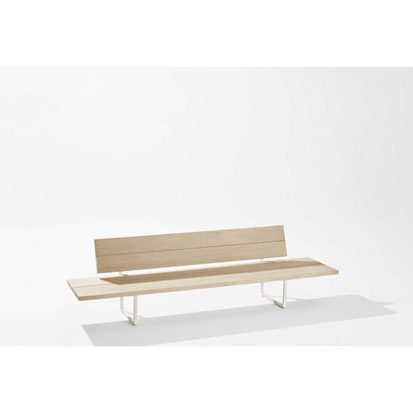 New-Wood Plan Bench Sidetable