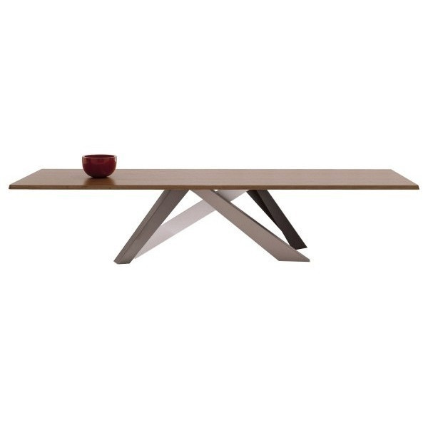 Big table van bonaldo puur design interieur - Colore noce canaletto ...