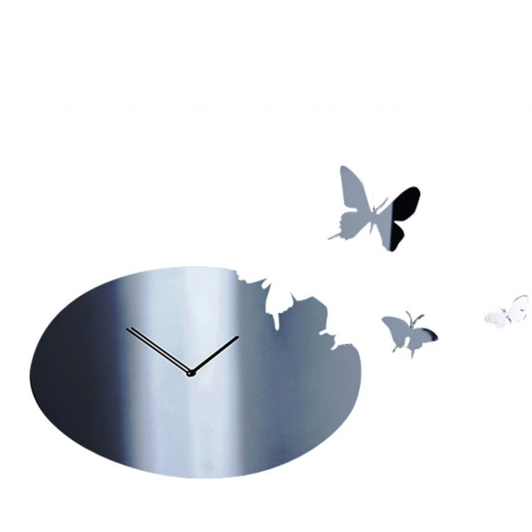 Butterfly wandklok