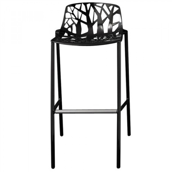 Forest Stool (low backrest) - fast - Puur