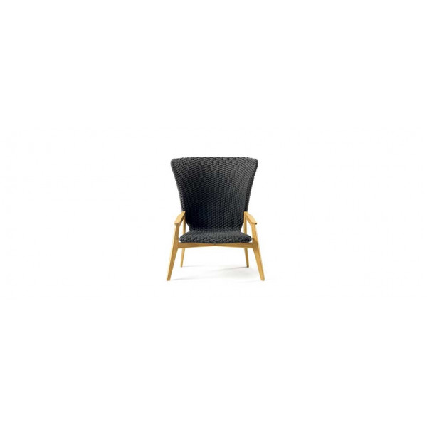 Knit Lounge High Back Chair