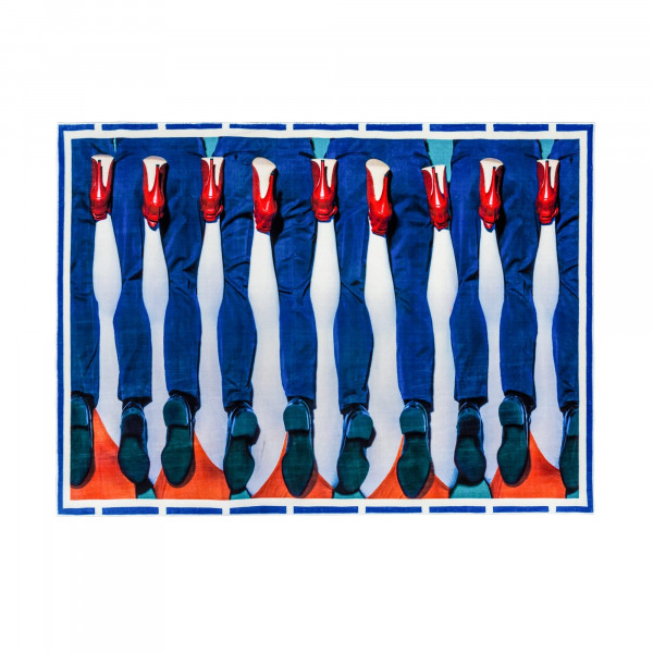 Rectangular Legs Rug
