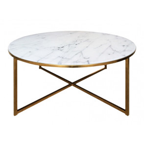 Alisma Coffee Table Round Gold (Magzijnopruiming)