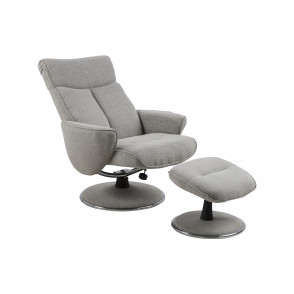 Nestor Resting Chair + Footstool