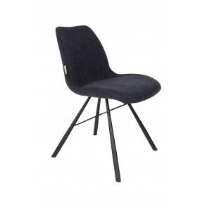 Brent stoel donkerblauw