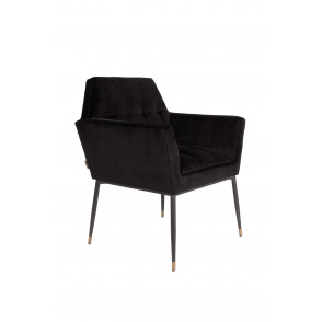 Kate armchair black