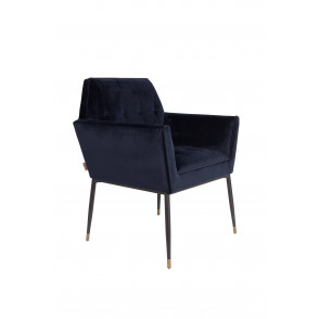 Kate armchair deep blue