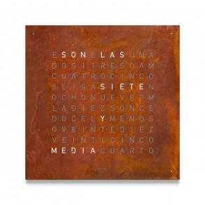 Qlocktwo 180 Creator's Edition Rust