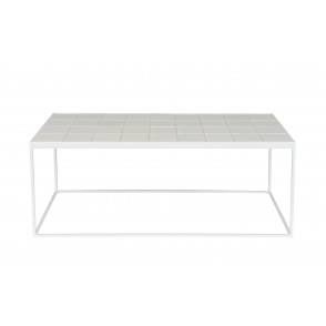 Glazed coffee table white