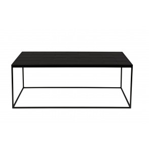 Glazed coffee table black