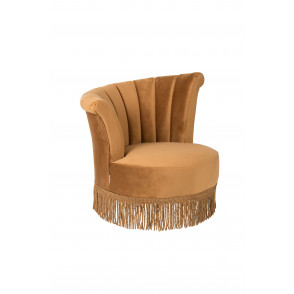 Flair lounge chair goudbruin