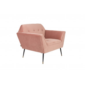 Kate lounge chair pink