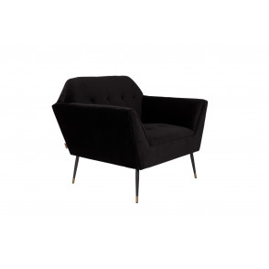 Kate lounge chair black