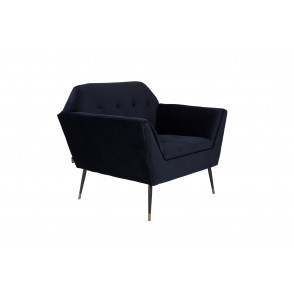 Kate lounge chair deep blue