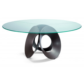 Oracle glas eettafel