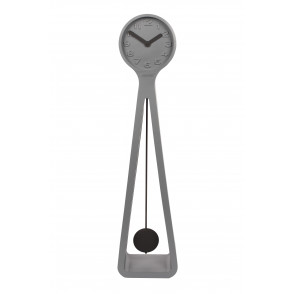 Giant clock grey