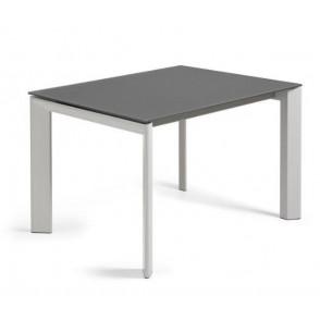 ATTA tafel met donker glazen tafelblad