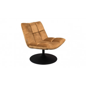 Bar Lounge Chair Velvet