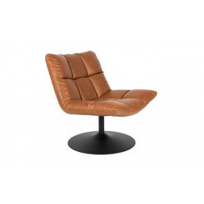 Bar Lounge Chair - Vintage Bruin