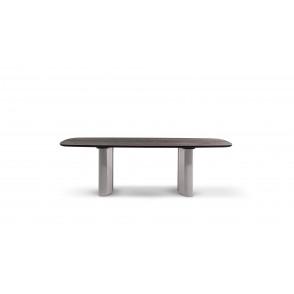 Geometric Table wood