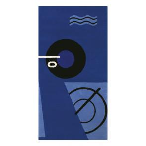 Blue marine tapijt