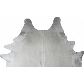 Natural white cow hide
