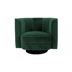 Flower lounge chair green