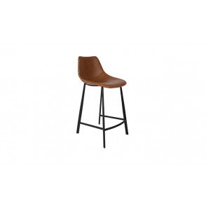 Franky Counter Stool - Cognac