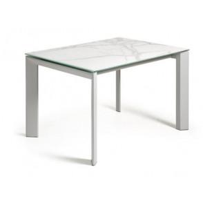 ATTA tafel porseleinen tafelblad kalos blanco