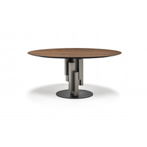 Skyline Table Round Wood