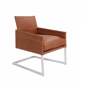 Texas Exclusiv Cantilever Flake Cushion Armchair