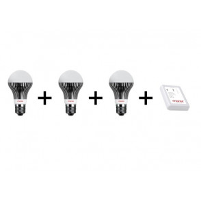 Pakket Moree drie lampen + Wifi controller