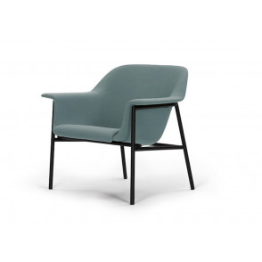 Sedan lounge chair frame black