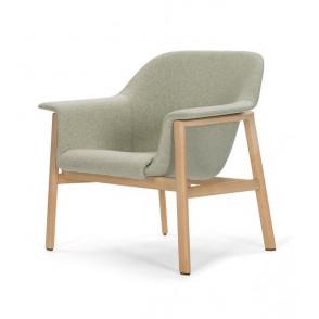 Sedan lounge chair frame oak