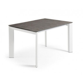 ATTA tafel met porseleinen tafelblad volcano ceniz