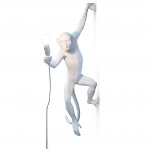 Monkey (hangend / wand) - Wit