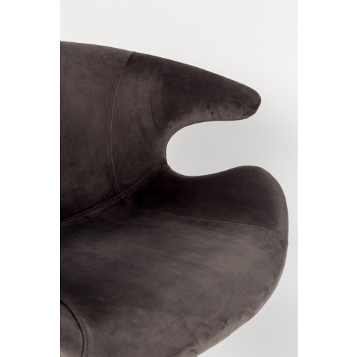 Mia stoel grijs