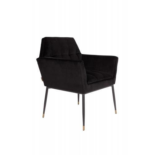 Kate armchair black