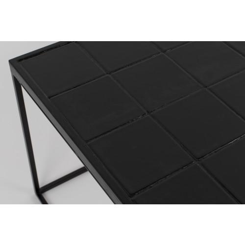 Glazed coffee table black