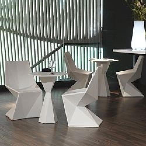 Vertex Hexagonal Table Ø80