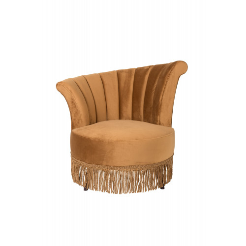 Flair lounge chair goudbruin
