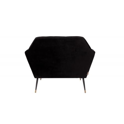 Kate lounge chair black