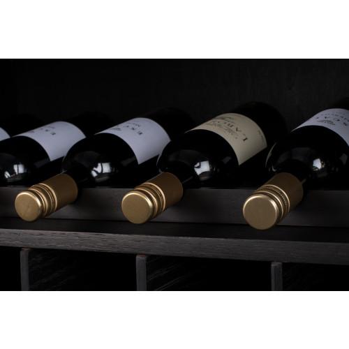 Travis cabinet wijnkast black oak