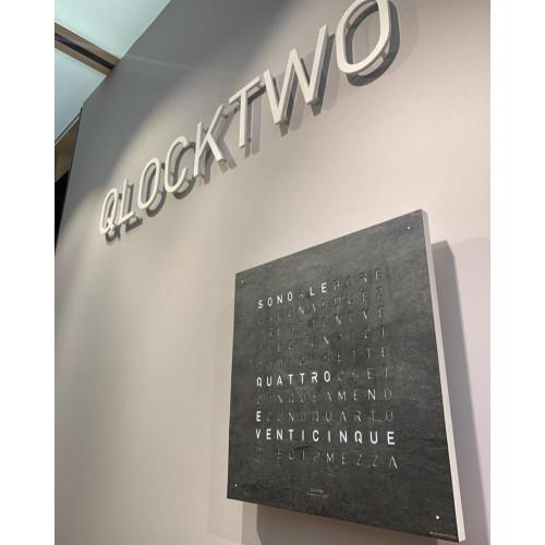 Qlocktwo Large Creator's Edition Metamorphite
