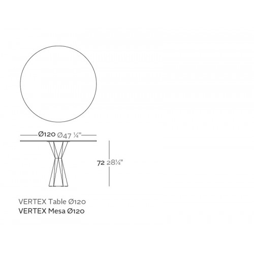 Vondom_Vertex_Round_Table_Puur_Design