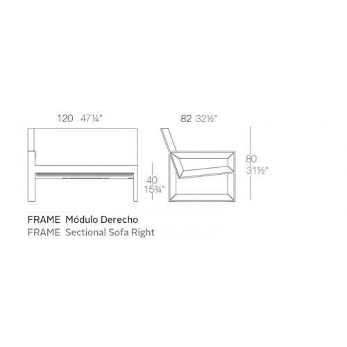 Vondom_Frame_Sofa_Module_Right_Puur_Design