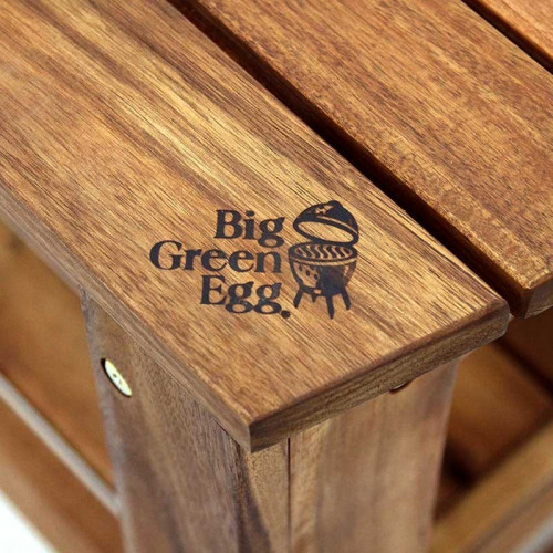 Big Green Egg Acacia Table