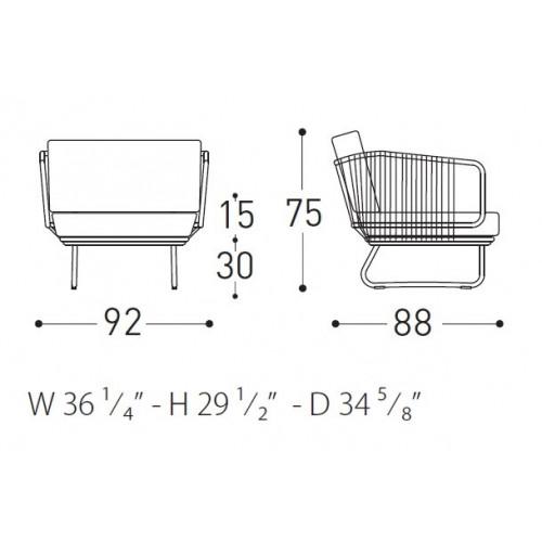 Babylon fauteuil