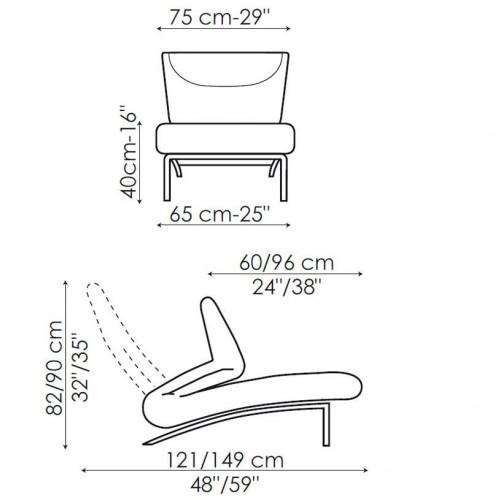 Berlin fauteuil